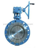 Forro do corpo EPDM Flange Butterfly Valve