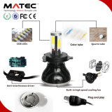 Phare imperméable à l'eau H4 H7 H11 9005 9006 du nécessaire 100% DEL d'ampoules de lampe de lumière de tête de prix usine