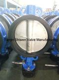 API/DIN Tipo Wafer Ferro Dúctil Válvula Borboleta com CF8 Disc
