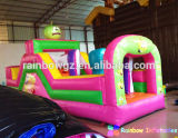 Nuovo Arrival Lovely Commercial Lovely Inflatable Obstacle Course per Kids