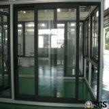 Qualitäts-thermischer Bruch-Aluminiumprofil-Rahmen-Schiebetür, Aluminiumfenster, Aluminiumfenster, Fenster K01112
