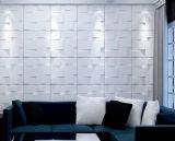 El panel de pared del PVC de la decoración 3D/papel/etiqueta engomada caseros interiores