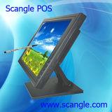 Monitor de tela de toque LCD de cinco polegadas e cinco polegadas