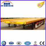 La meilleure remorque de vente de transport de conteneur de lit plat de 3axles 40FT semi