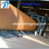 O tubo de aço e a superfície Extenernal interna do tubo de Granalhagem a máquina
