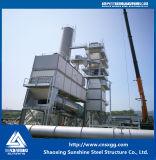 Estructura de acero industrial