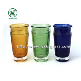 Botella de vidrio de color natural (8,6*8.6*13.8)