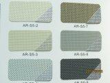 Revestimiento de aluminio, tejido de revestimiento de aluminio Suncreen tonos solares Roller Sunscreen Fabric,