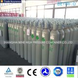 nitrogênio 50L/argônio/acetileno/oxigênio/cilindro do CO2 com tampão e válvula pelo fabricante de China