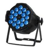 10/PCS 24PCS 4 en 1 IGUALDAD enciende la lámpara para la lámpara del partido del club para el partido de la luz de la música de los discos