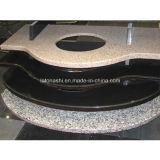 Black Granite / Marmo Stone Vanity Top controsoffitto per Cucina, Bagno