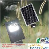 Preis der Fabrik-6W Bridgelux alles in einem Solar-LED-Straßenlaterne