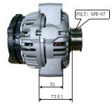 12V 105A для генератора Bosch Chevrolet Лестер 11073 0124325133