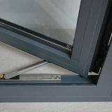 Guichet en aluminium enduit de tissu pour rideaux de profil de poudre blanche de couleur de qualité avec la pièce K03019 de difficulté