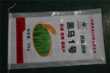 La bolsa de plástico para el conjunto del arroz