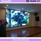 Afficheur LED d'intérieur de publicité polychrome d'écran