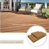 Suelo compuesto plástico de madera al aire libre del Decking WPC