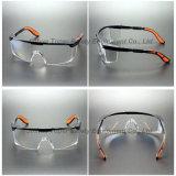 투명한 렌즈 검정 프레임 안전 유리 (SG110)