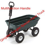 Multifunction Handle Garden Dump Cart