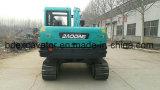 Carregador de madeira da máquina de carregamento da máquina escavadora da esteira rolante de Baoding 8ton
