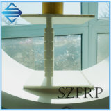 Feixe da forma da fibra de vidro I de FRP com sulco