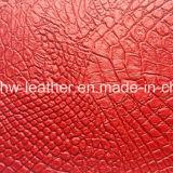 Venta caliente cuero PVC PVC tejido Sofá tapizado (HW-243)