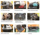 Boa qualidade de 1000kg pequeno tambor Duplo Hidráulico do Compactador Massa vibratório