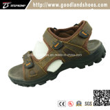 Haut Unper & prix bon marché en cuir respirant Chaussures hommes sandale 20023-1