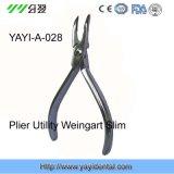 Los alicates aprobados CE Weingart utilitario delgado con alargan la rotura