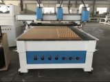 Máquina de cinzeladura de madeira do CNC do melhor preço 3D para a porta de madeira