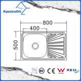 Boven de TegenGootsteen van de Keuken van Moduled van het Roestvrij staal (acs-8050SB)