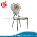 Moderno popular en China Mayorista de acero inoxidable Silla de Comedor