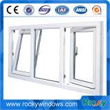Felsiges Aluminiumneigung-Drehung-Fenster mit Doppeltes glasig-glänzendem Niedrigem-e ausgeglichenem Glas