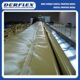 Anti Fronzen lona de PVC tejido recubierto para cubiertas de camiones