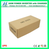 300W выкл инвертора солнечной поверхности 12V инвертирующий усилитель мощности с помощью зарядного устройства аккумулятора (QW-M300ИБП)