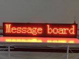 40X8 radio dell'interno del segno di colore rosso LED di pollice P10 e schermo di visualizzazione programmabile del LED di informazioni di rotolamento del USB 1000X200mm