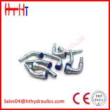 Tubo hidráulico embutidos rectos los racores con Ce y certificación ISO 20111 20111-T