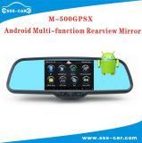 Android multifonction moniteur Rétroviseur de voiture avec GPS, DVR, Bluetooth, MP5 Functuon