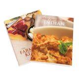 Stampa di ricetta del Hardcover, commercio all'ingrosso di stampa del libro del cuoco della libro con copertina rigida