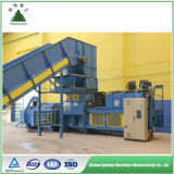 Machine en plastique de presse à emballer de rebut hydraulique automatique