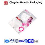 O Plástico Ziplock blusas/roupas íntimas Saco de embalagem com impressão colorida