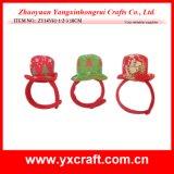 Chapeau d'enfants de premier chapeau de Noël de la décoration de Noël (ZY14Y34-3-4 16CM)