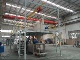 500kg/H Wasserkühlung-Riemen-Kühlsystem-Puder-Beschichtung-Gebrauch