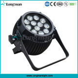 12*5W Waterproof DMX White Color CREE LED Disco Light