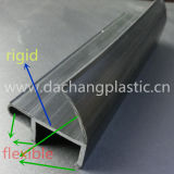 Profil d'extrusion de plastique pour le réfrigérateur le châssis