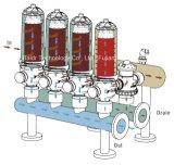 """3 """"渦の自動Backflushingディスク・フィルタの用水系統"""