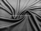 Favo de tecido de malha 100%Poli, 140 gsm, Jacquard Bird-Eye tecido tricô para o desporto