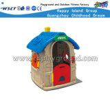 A casa plástica pequena do jogo caçoa o campo de jogos (HC-16404)