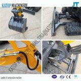 Graafwerktuig van China van het Merk van Katop het ModelJh18 voor de Machines van de Bouw