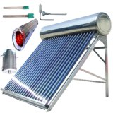 Calentador de agua solar del acero inoxidable (colector solar del tubo de vacío)